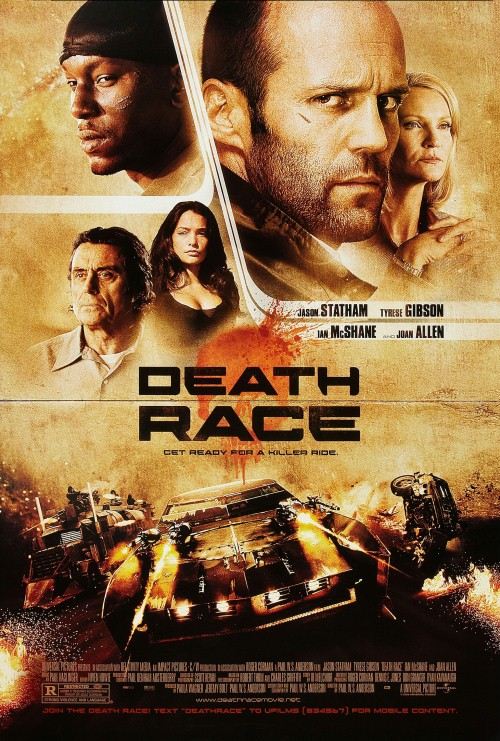 Plakat z filmu 'Death Race'