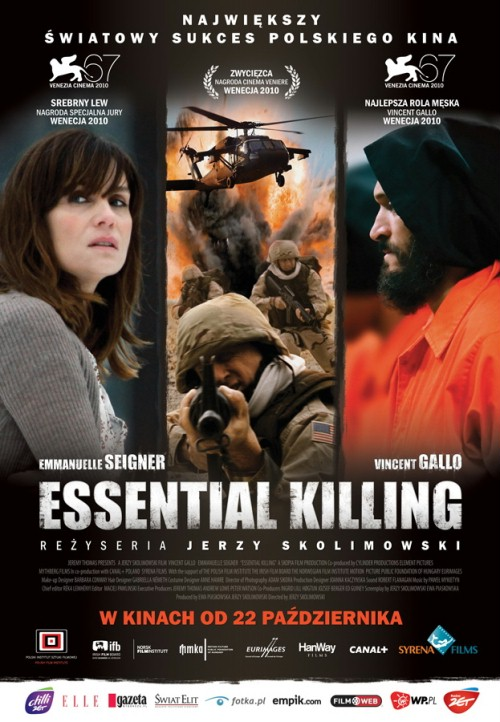 Plakat z filmu 'Essential Killing'