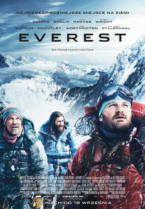 Plakat z filmu 'Everest'