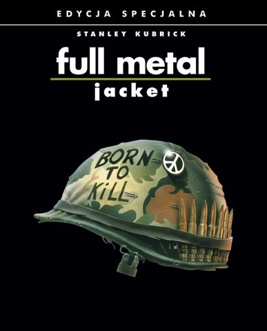 Plakat z filmu 'Full Metal Jacket'