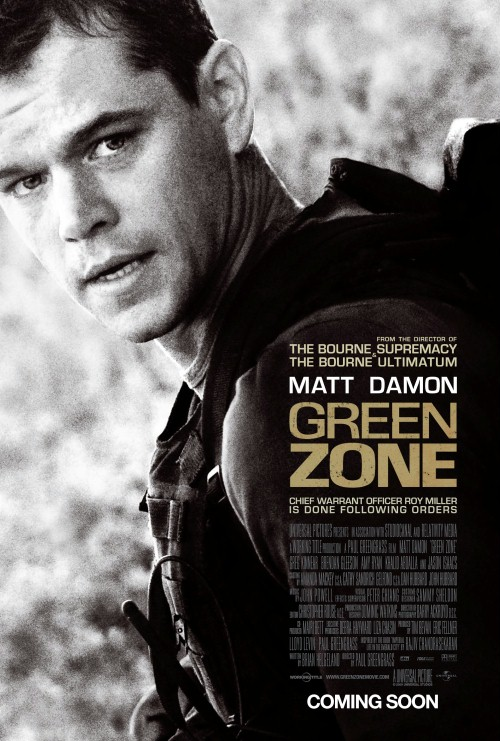 Plakat z filmu 'Green Zone'