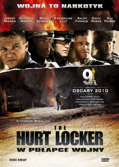 Plakat z filmu 'The Hurt Locker. W pułapce wojny'
