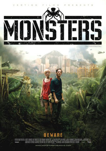 Plakat filmu 'Strefa X (Monsters)'