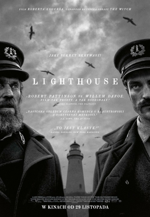 Plakat z filmu 'The Lighthouse'