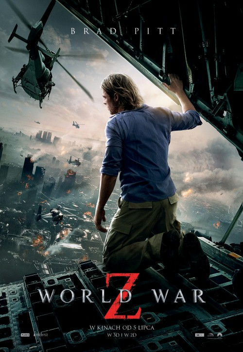 Plakat z filmu 'World War Z'
